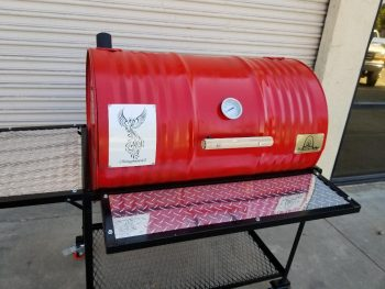 Single Barbecue Barrel Deluxe BBQ Grill
