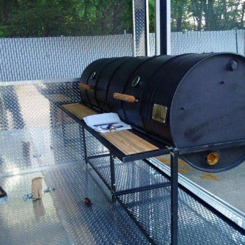 Double Barrel Basic Custom BBQ Grill