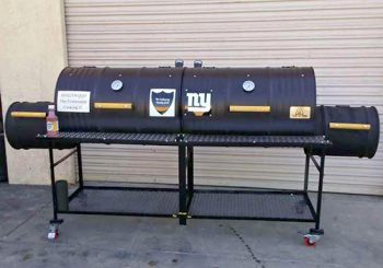 Double Barrel Grill, Double Firebox