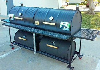 Queen Quad Smoker Grill