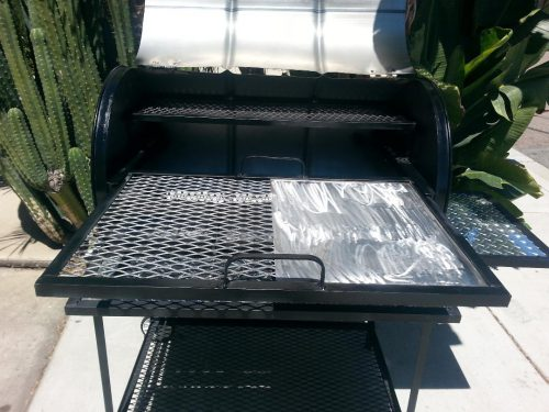 Single Barrel All-In-One Custom BBQ Grill
