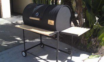 Single Barrel Basic Custom BBQ Grill