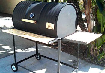 Single Barrel Basic Custom BBQ Grill