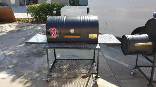 Single Barrel Smoker – Offset Firebox
