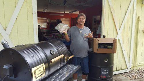 Single Barrel Smoker – Offset Firebox