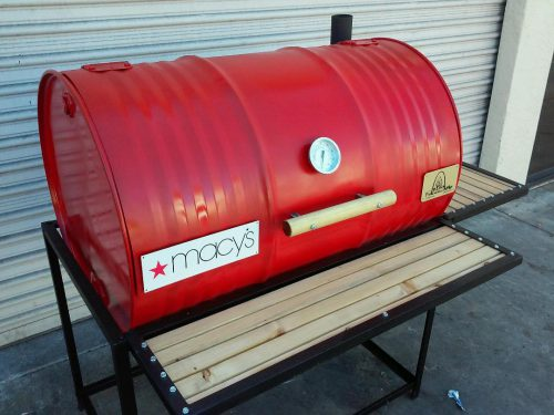 Single Barbecue Barrel Deluxe BBQ Grill