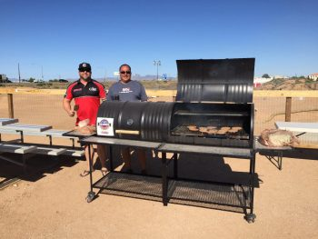 Double Barrel Custom BBQ Grill