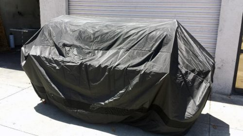 Double Barrel Grill Cover