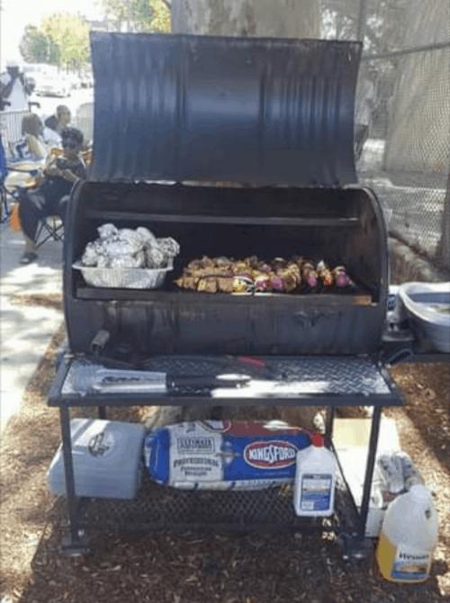 Single Barrel All-In-One Custom BBQ Grill