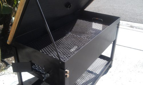Pool Table Custom BBQ Grill without Pool Table