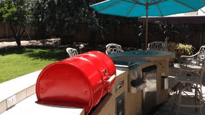 Island Single Barrel Custom BBQ Grill