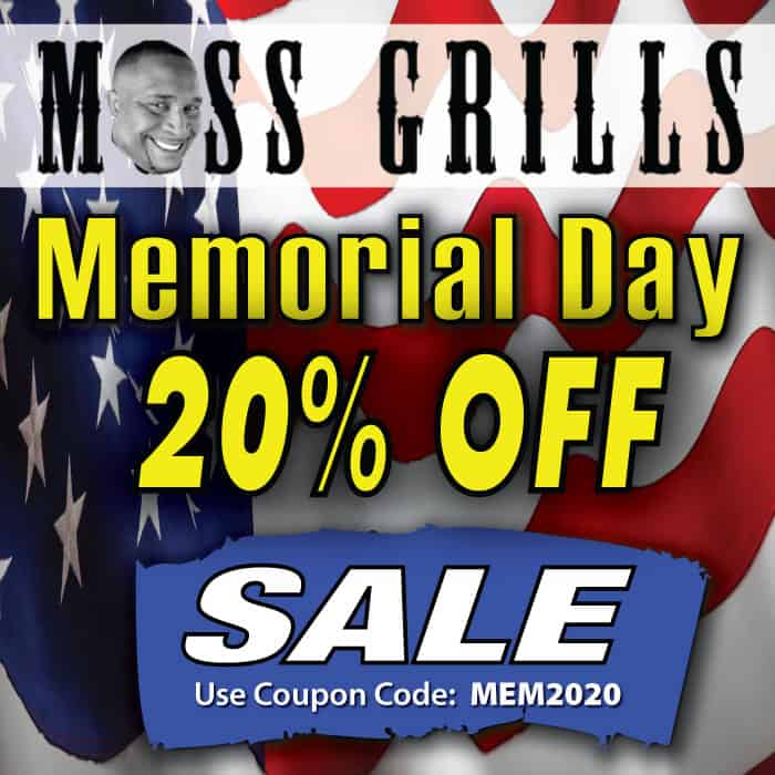 Get 20% off sitewide this Memorial Day