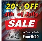 20% Off 4th of July Sale