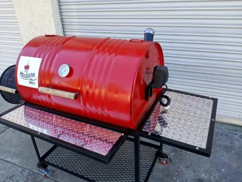 Red Hot Barbecue Smoker – Offset Firebox