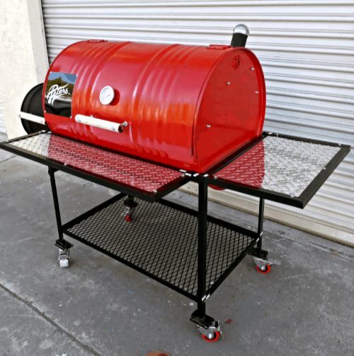 Red Hot Barbecue Smoker