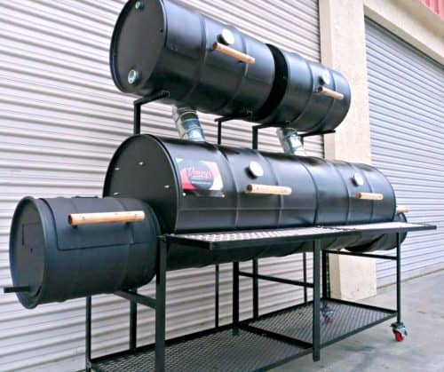 King Six Barrel Smoker Barbecue Smoker Pit