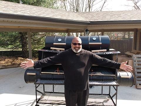 Pastor Steven Kelsey King's King Of King Grill Smoker