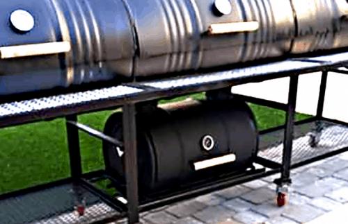 Triple Barrel Triple Smoker BBQ Grill